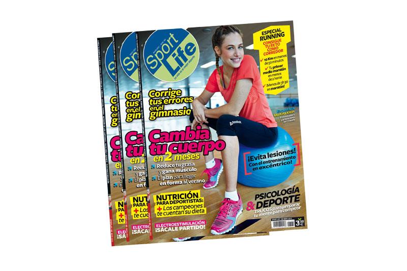 La revista Sportlife regala un póster gigante de estiramientos
