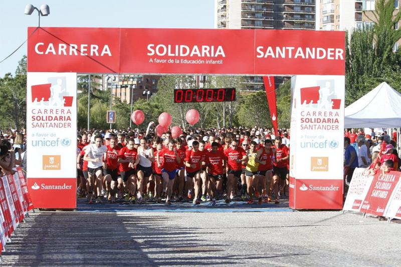 Últimos días para apuntarte a la Carrera Solidaria Santander