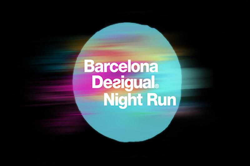 Llega Barcelona Desigual Night Run: la primera carrera popular nocturna de la ciudad condal