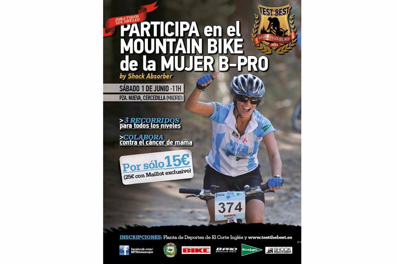 ¡Llega el Mountain Bike de la Mujer!