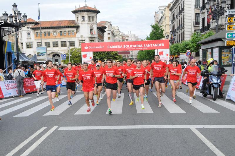 Madrid, Santander y Sevilla celebran el 9 de junio la III Carrera Solidaria Santander