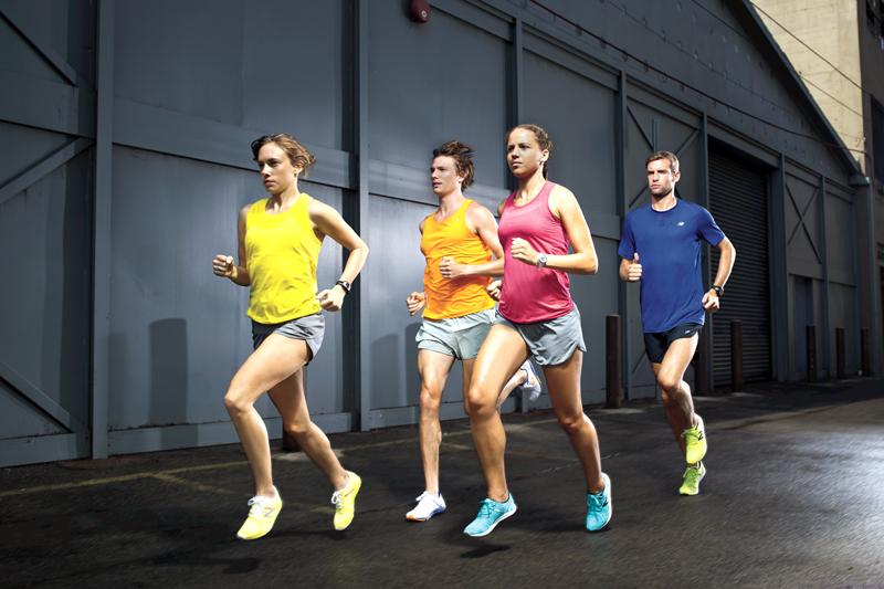 Fíjate cómo corres y corrígete