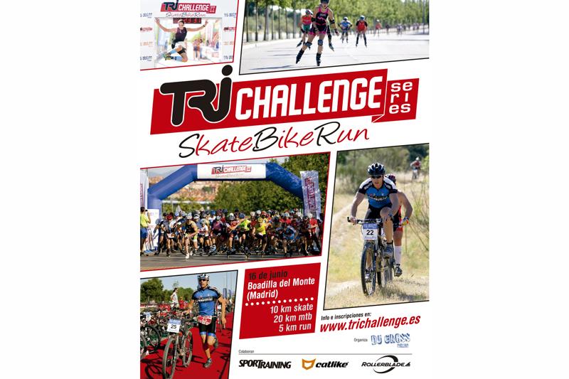 Vuelve Tri Challenge, el triatlón de los patinadores