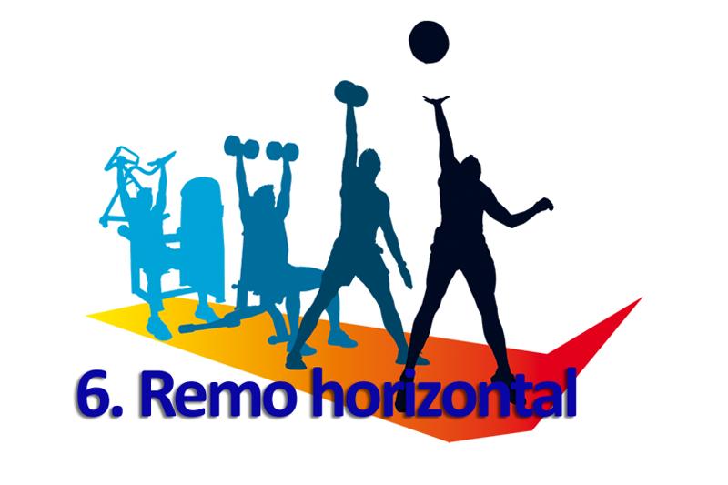 Progresiones funcionales 6: Remo horizontal