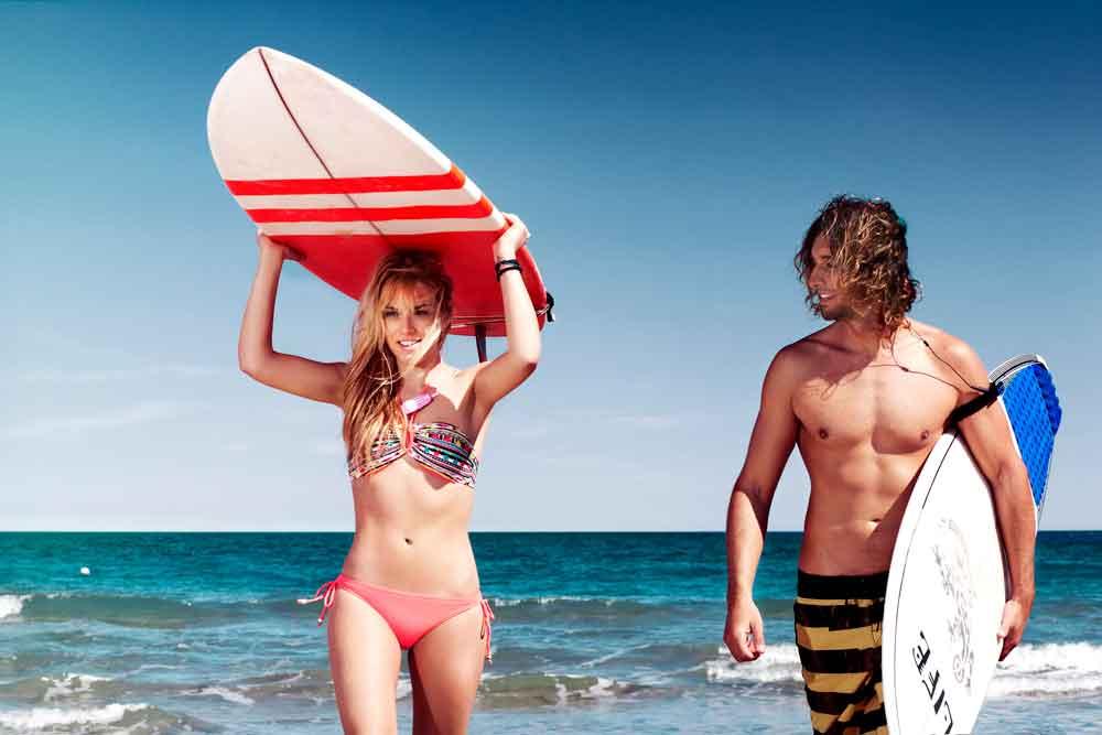Gana un curso de surf... ¡por tu cara bonita!