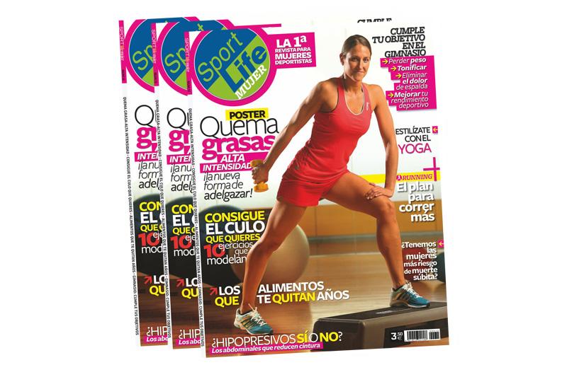 Consigue el póster quema-grasas con el Sport Life Mujer 2013