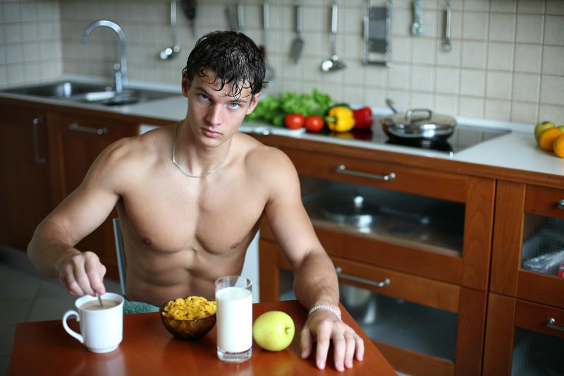 El desayuno para antes de coger las pesas