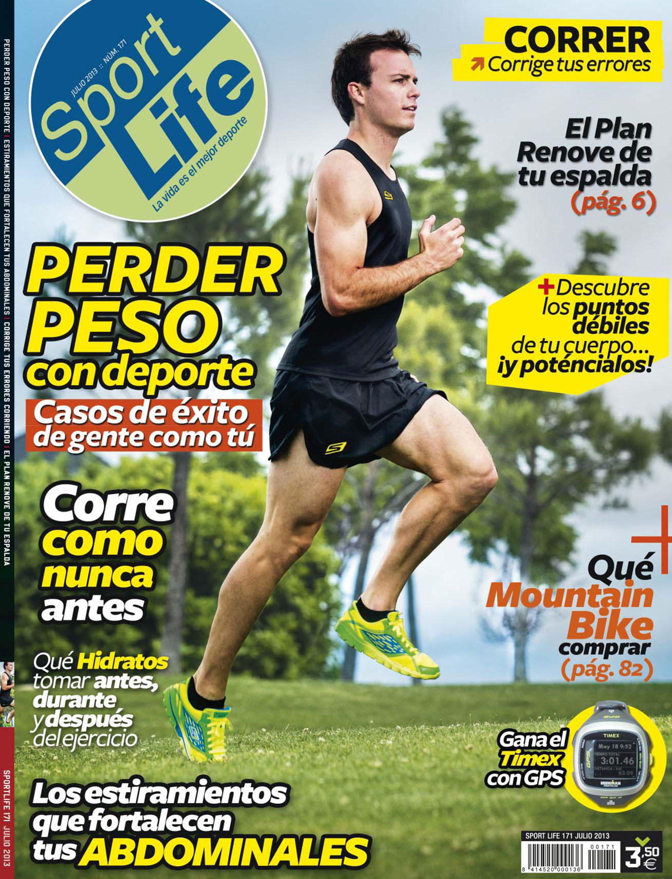 Sumario Sport Life 171 julio 2013