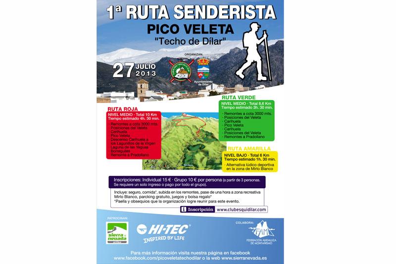"""I Ruta Senderista Pico Veleta """"Techo de Dílar"""""""