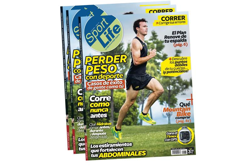 Descubre al ganador del Club Pérdida de Peso con el nuevo número de julio de Sport Life