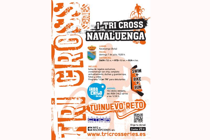 Tri Cross se estrena en Ávila con una prueba en Navaluenga