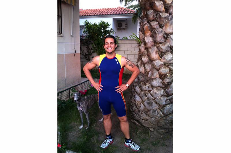 Enrique del Pozo: ponerse en forma corriendo con el galgo