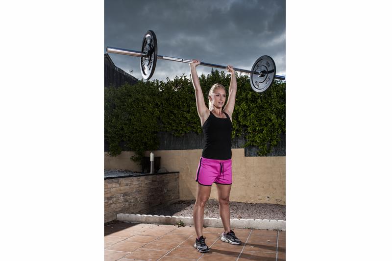 Vanessa Berzosa: de sedentaria a crossfitera