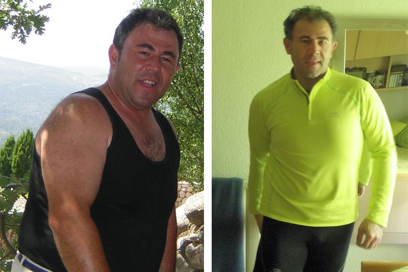 Juan Manuel Navas: adelgazar y hacer vida saludable