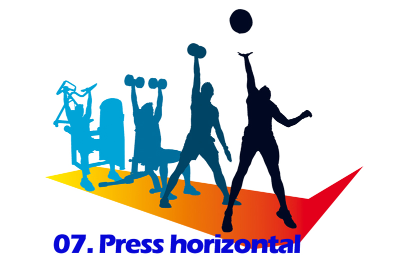 Progresiones Funcionales 7: Press horizontal
