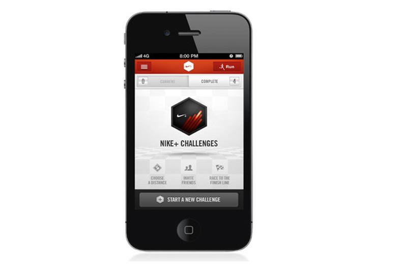 Llega Nike + Challenges: la actualización para iPhone y iPod de Nike + Running