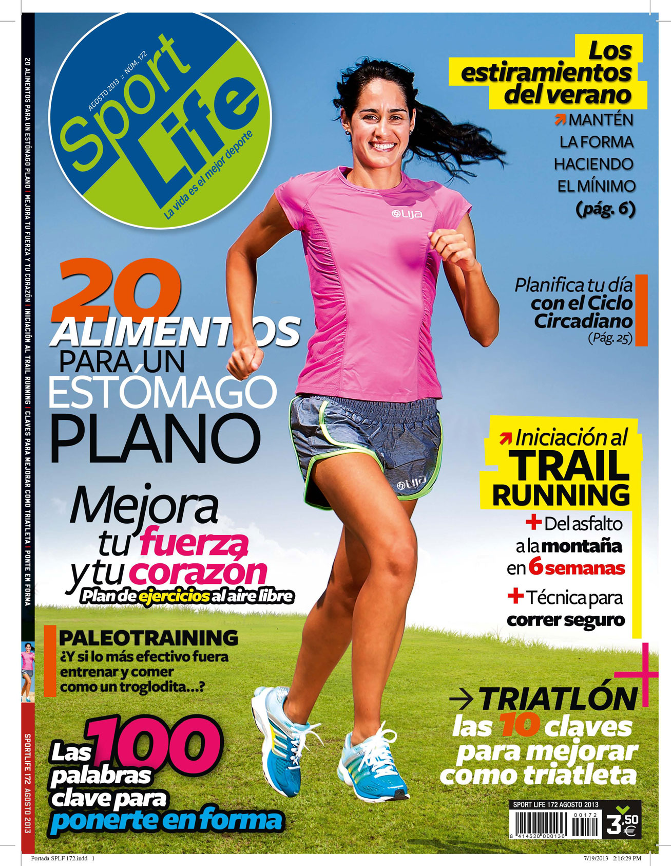 Sumario Sport Life 172 agosto 2013