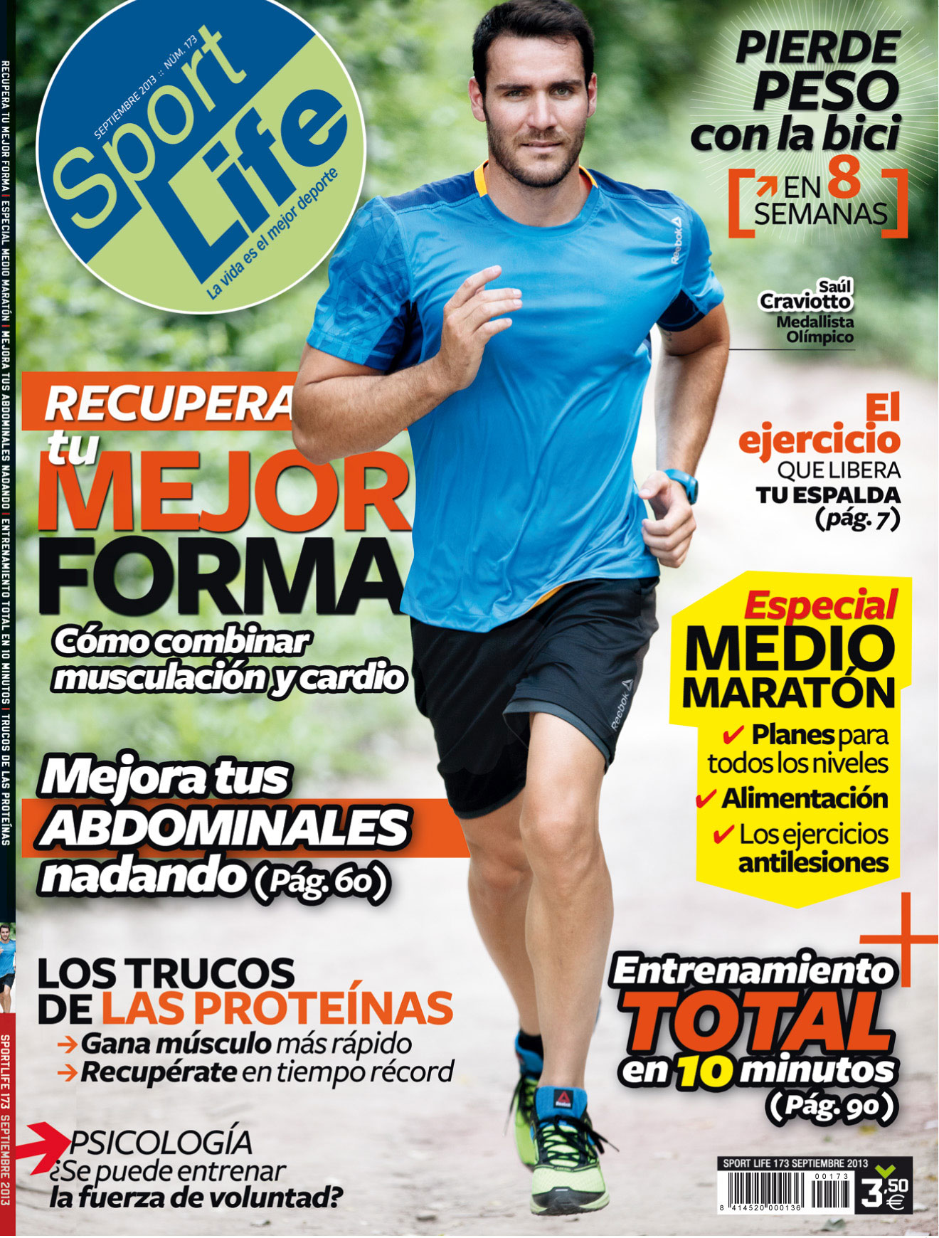 Sumario Sport Life 173 Septiembre 2013