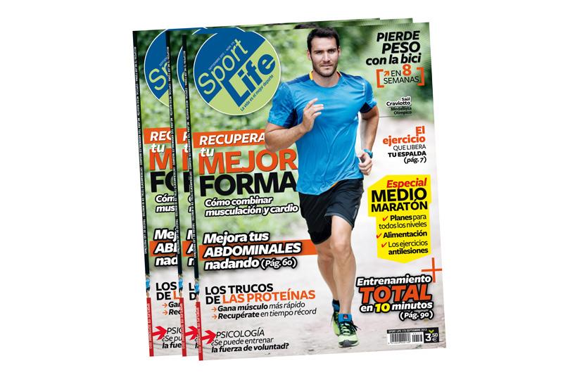 Recupera tu mejor forma con el nuevo Sport Life de septiembre