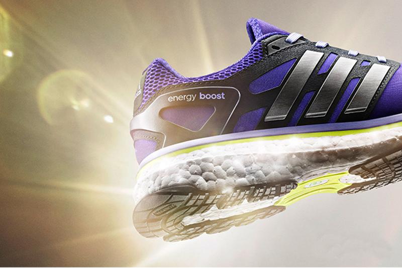 Las zapatillas Energy Boost a todo color