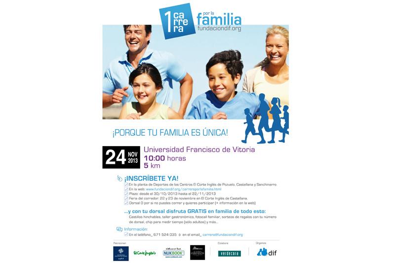 Corre en familia el próximo 24 de noviembre