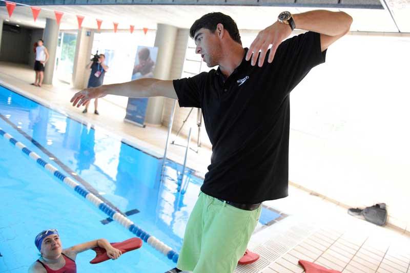 Los trucos de los campeones: Michael Phelps