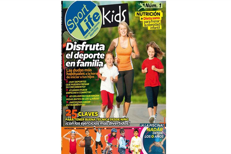 ¡Forma parte de las páginas del Sport Life Kids con tu pequeño gran deportista!