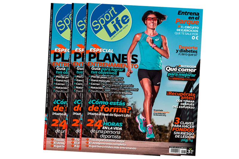 Consigue el póster gigante de musculación con el número de octubre Sport Life ¡Y gratis!