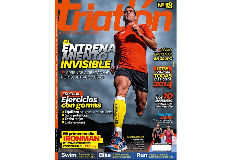 No te pierdas el número 18 de la revista Triatlón