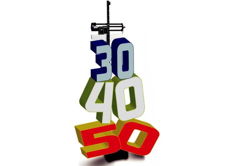 ¿Cuánto te pesan los años? En forma a los 30, 40 y 50