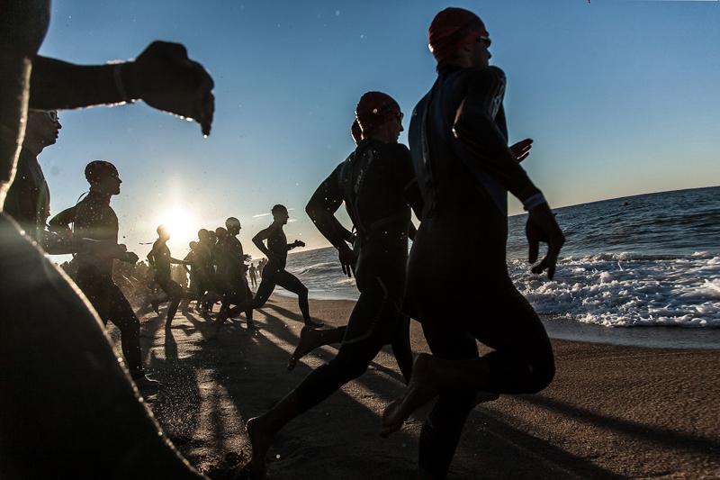 Plan para un triatlón olímpico en 20 semanas