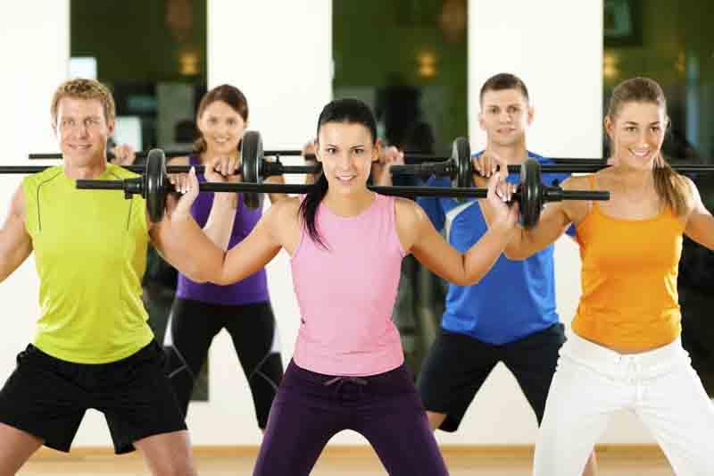 Entrenamiento de fitness en una hora