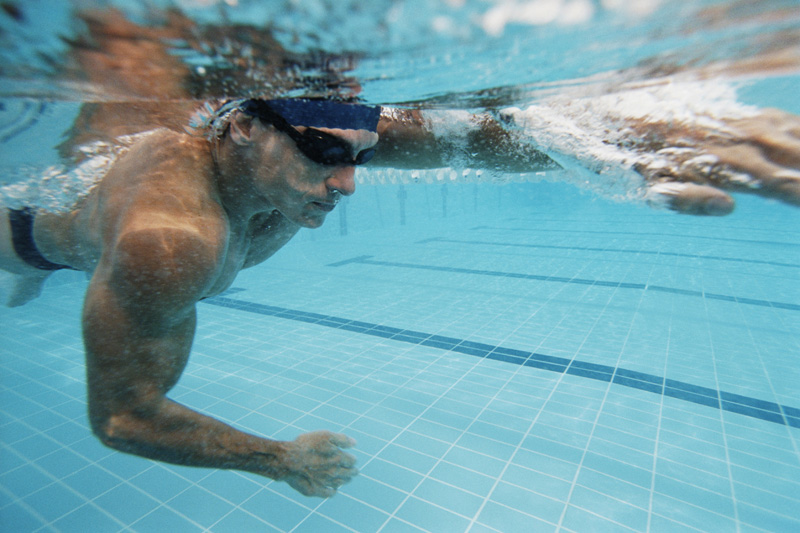 Entrena tu velocidad en la piscina