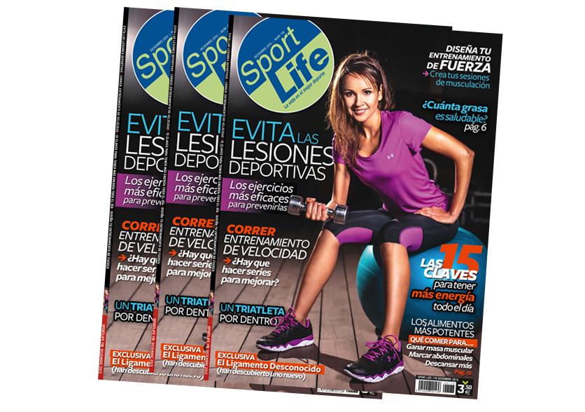 Ya está a la venta el número de diciembre de Sport Life