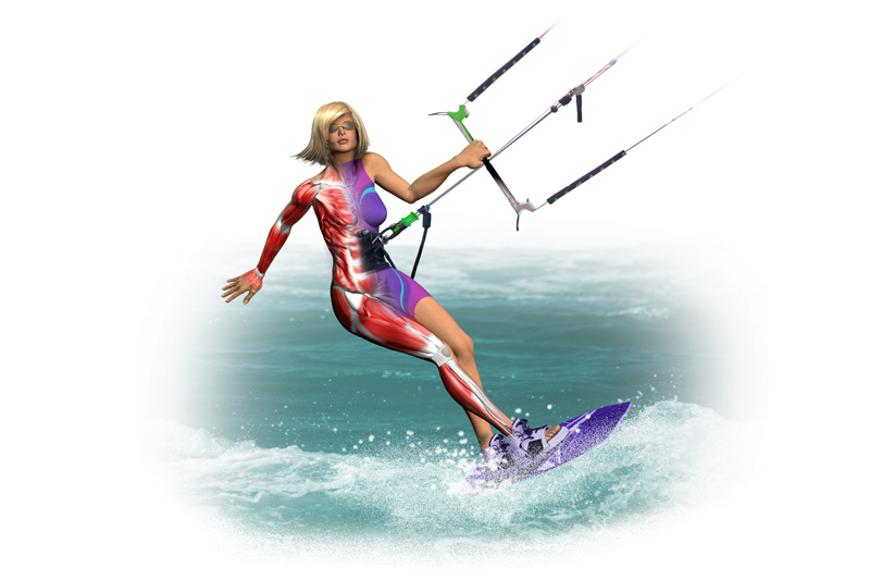 Preparacion física específica: Kitesurf