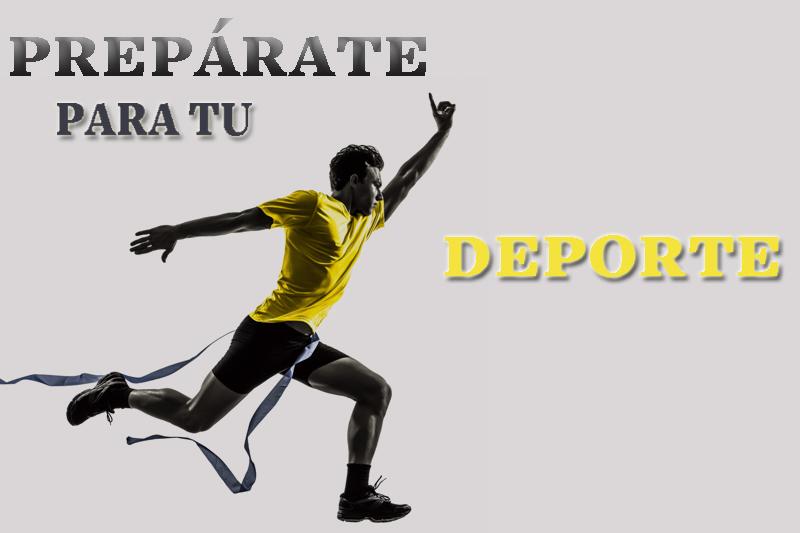 Prepárate para tu deporte: preparación física para todos los deportes