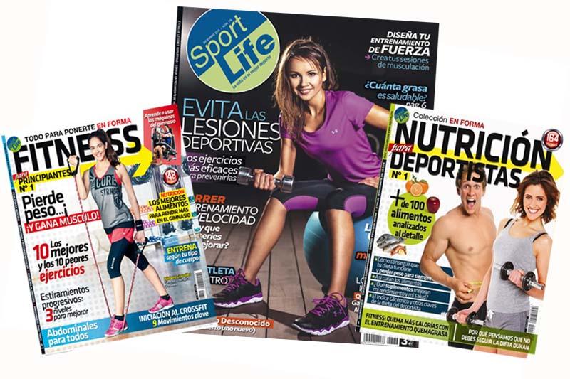 Llévate con Sport Life diciembre la Guía Fitness o la Guía de nutrición deportiva