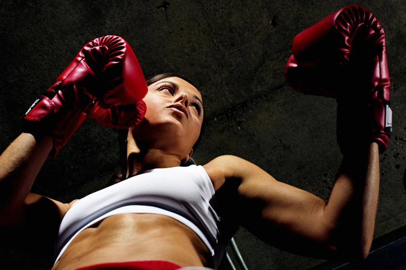 Ponte en forma boxeando