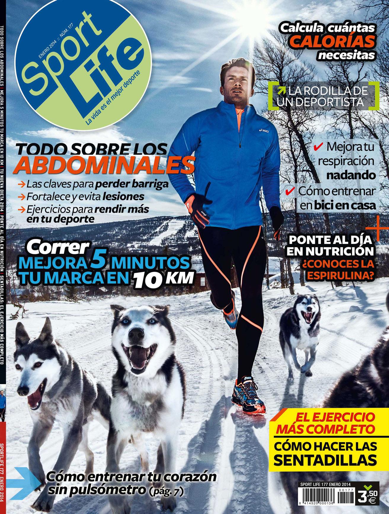 Sumario Sport Life 177 Enero 2014