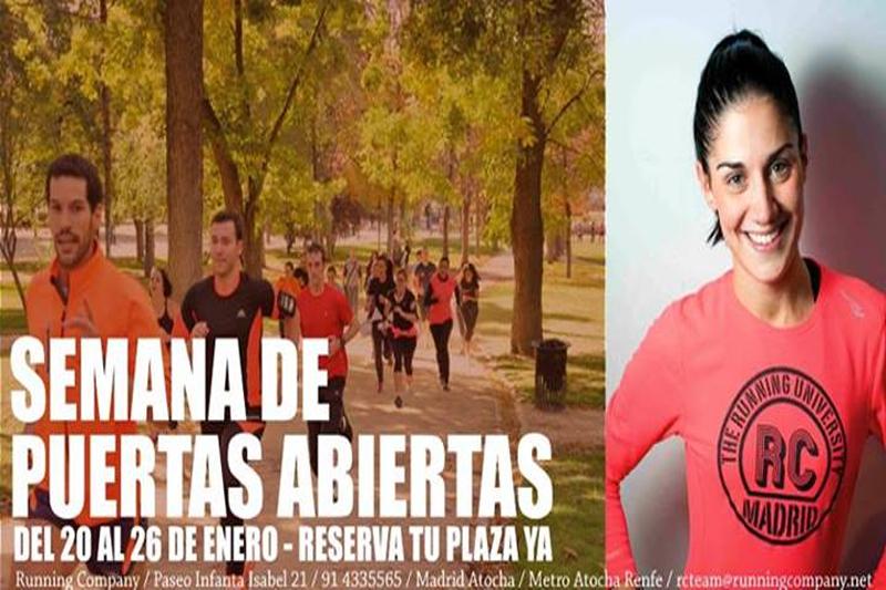 Prueba los entrenamientos de Running Company en su semana de puertas abiertas