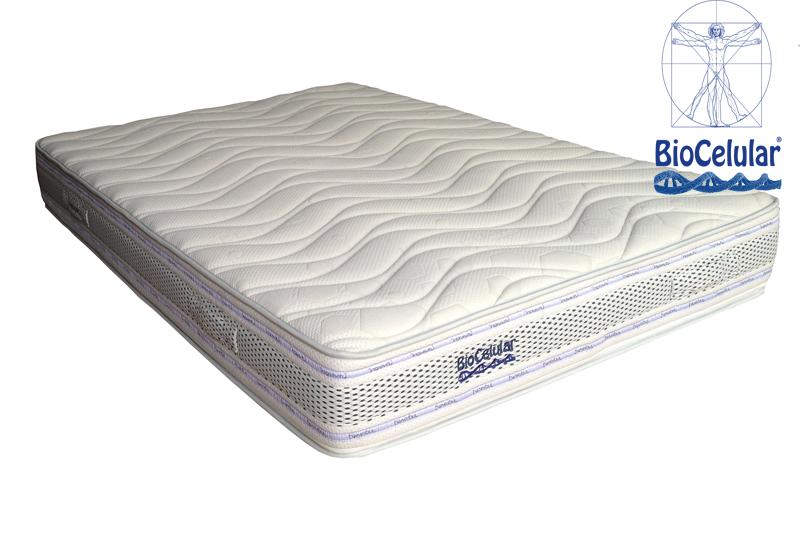 El colchón Biocelular+ para deportistas