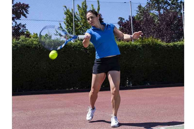 Tenis con Vivi Ruano