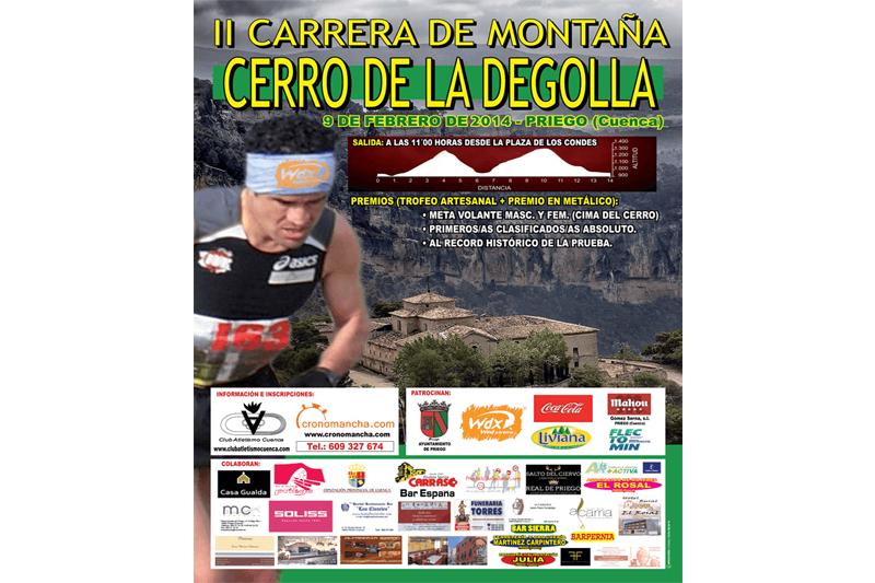 Sube a lo más alto en la II edición de la Subida al Cerro de la Degollá