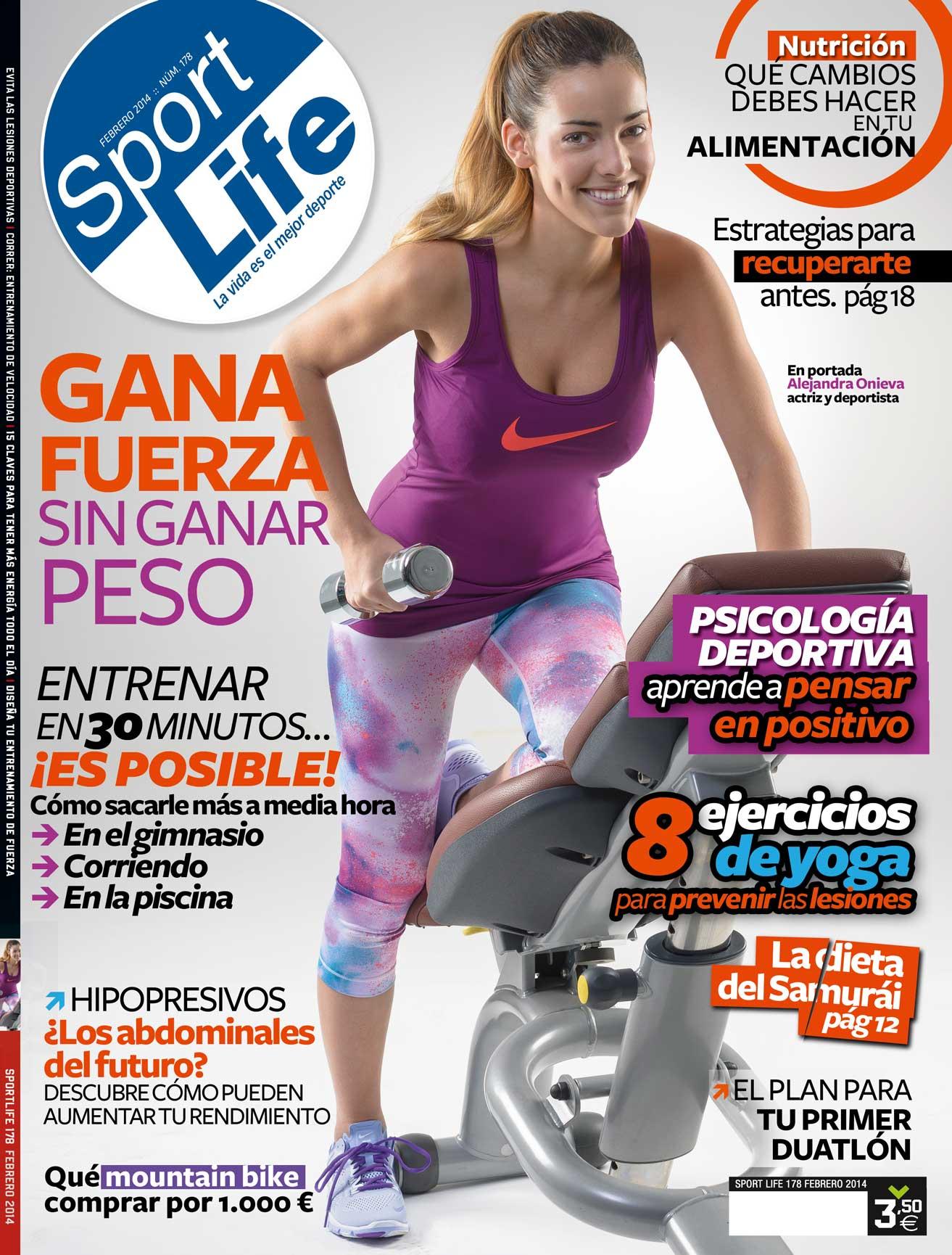 Sumario Sport Life 178 Febrero 2014