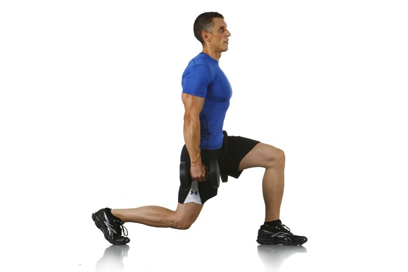 El ejercicio que te prepara para todos los deportes: la zancada perfecta