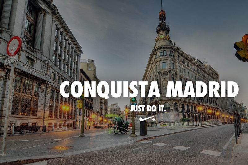 Conquista Madrid con la Nike Flyknit Experience