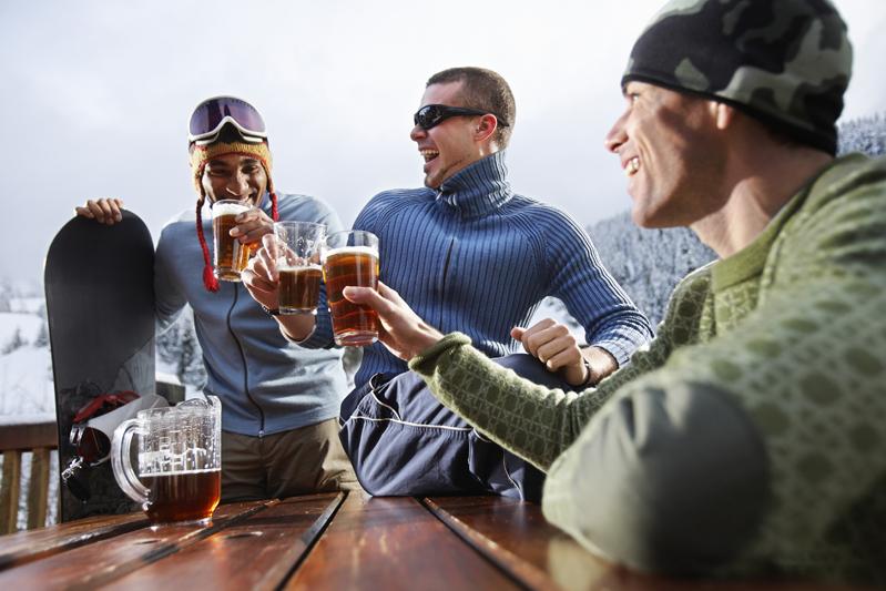 Cervecita para recuperarse del esfuerzo