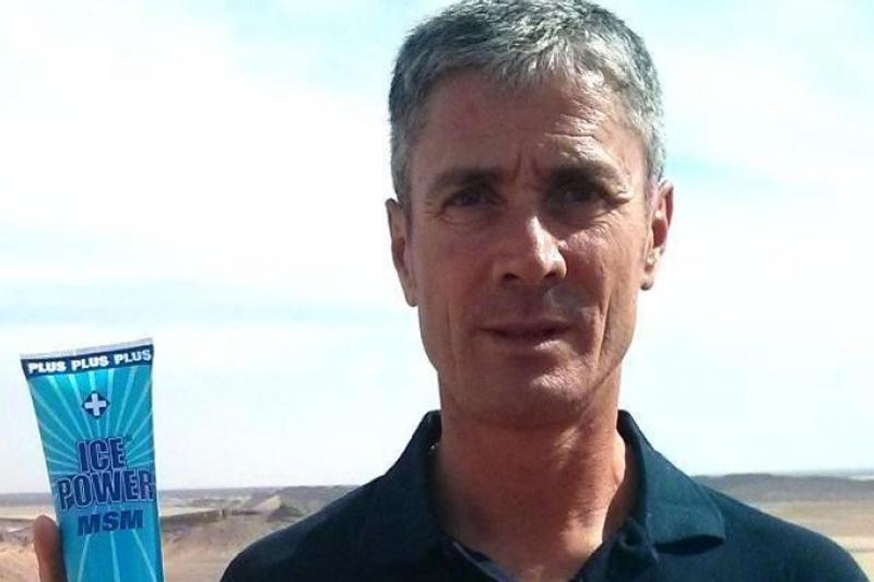 Martín Fiz: embajador de Ice Power