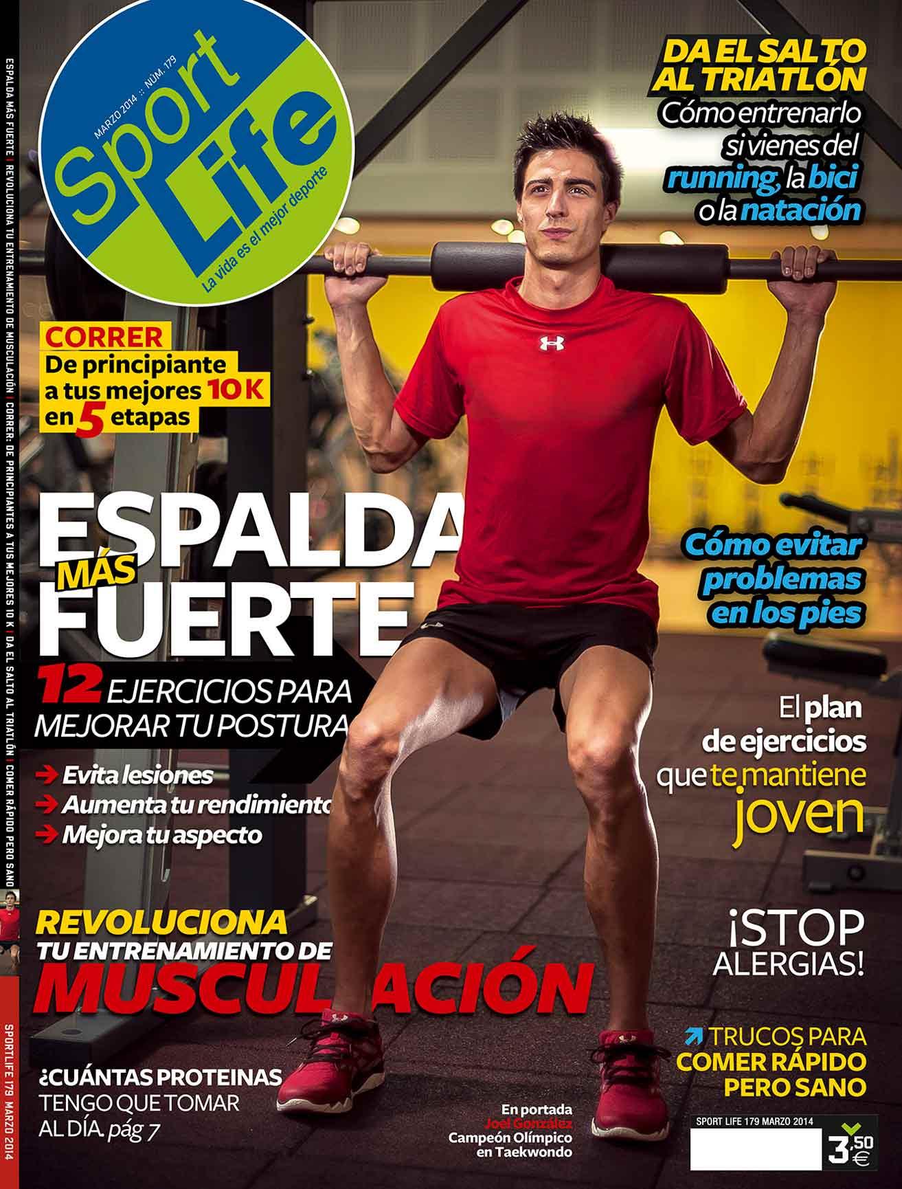 Sumario Sport Life 179 Marzo 2014