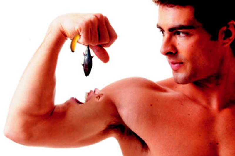 No solo de pollo vive el músculo